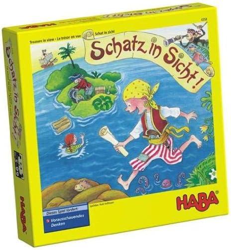 HABA 4538 - Juego de Mesa Aventura Pirata: Amazon.es: Juguetes y ...