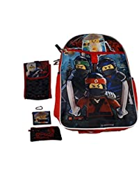 "5pc 16"" Lego Ninjago 16in Backpack Set"