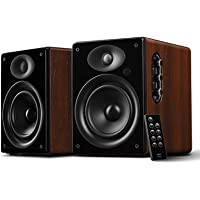 HiVi 惠威 D1080MKII+ 无线蓝牙音箱 多媒体有源电脑音箱 客厅电视音箱 音响 (亚马逊自营商品, 由供应商配送)