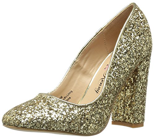 Women's Kenny Glitter Pump Ritz Loves Penny Gold E1OqH