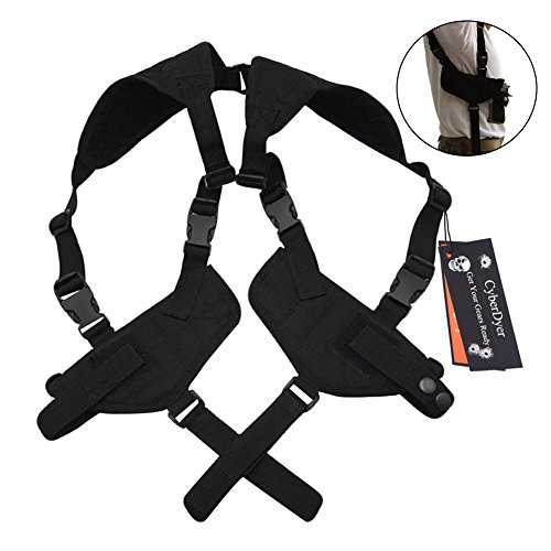 CyberDyer Tactical Double Draw Handgun Shoulder Holster Fully