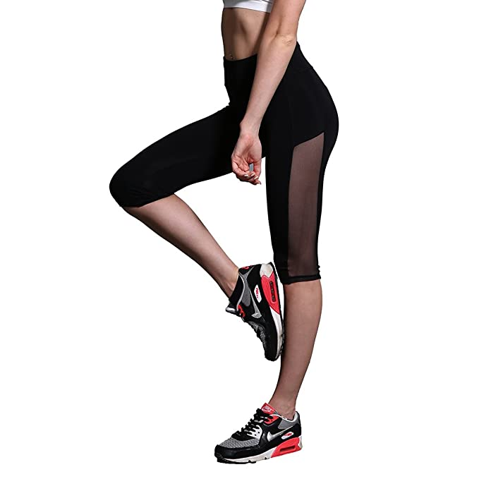 a3aec9730e B.BANG Sexy Women Sportswear Athletic Push Up Leggings Gym Pants for Running  Fitness Yoga