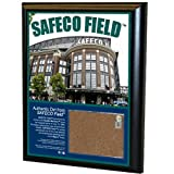 MLB Seattle Mariners Safeco Field 8x10-Inch Game Used Dirt Plaque Photomint