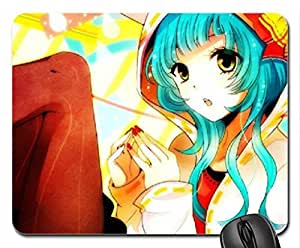 ANIME GIRL MOUSE PAD, MOUSEPAD 9 inch X 7 inch