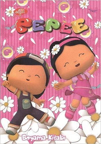 Pepee Renkli Boyama Kitabı 20x28 8 Yp Amazoncomtr