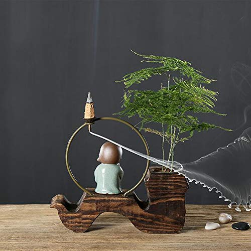 Incense Burner Backflow Environmentally Friendly Wood (conical) for Home Decoration by Incense Burner (Image #5)