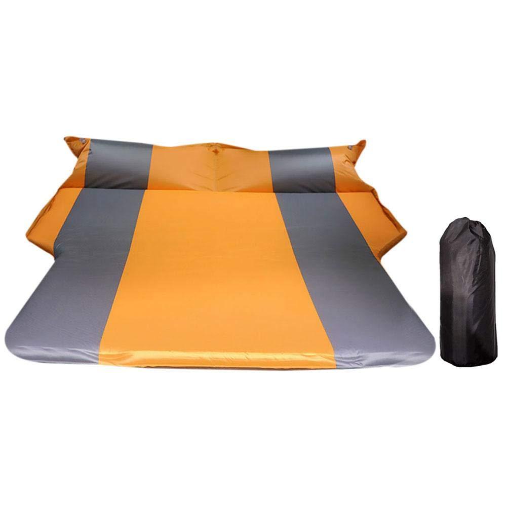 tragbare Camping-Outdoor-Matratze mit Aufbewahrungstasche Auto-automatische Luftmatratze Trunk Travel verdickte Luftbett-SUV-Luftmatratze f/ür Outdoor-Camping-Wandern