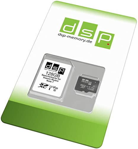 Tarjeta de Memoria de 128 GB (A1, V30, U3) para Xiaomi Redmi Note 7