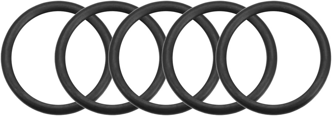 3,5mm Breite de 35mm Innendurchmesser O Ringe Nitrile Gummidichtung sourcing map 5 Stk