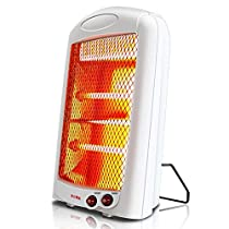 Tip-Over Protection Heater 600W Portable With Overheat Protection And Carrying Handle Free Standing