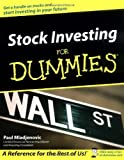 img - for Stock Investing for Dummies by Paul Mladjenovic (2002-06-24) book / textbook / text book