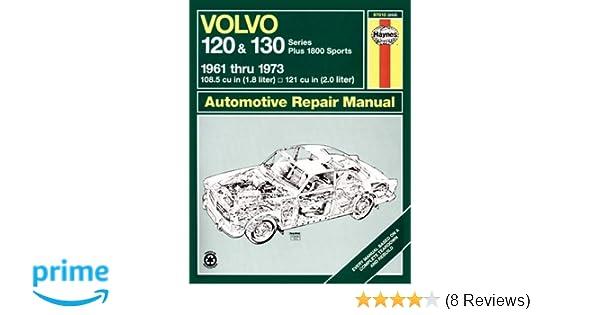 Volvo 120 and 130 series and 1800 1961 73 haynes repair manuals volvo 120 and 130 series and 1800 1961 73 haynes repair manuals haynes 0038345002038 amazon books fandeluxe Gallery
