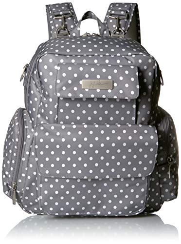 - JuJuBe Be Nurtured Large Breast Pump Backpack, Classic Collection - Dot Dot Dot