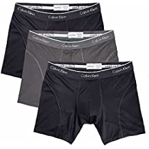 Calvin Klein Boxer Brief Extreme Comfort Breathable Mesh New Style (Large, Black - 3 Pack)