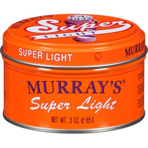 Murray's Light Pomade & Hair Dressing, Super Light, 3 oz.