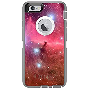 "CUSTOM Glacier OtterBox Defender Series Case for Apple iPhone 6 (4.7"" Model) - Horsehead Nebula Pink"