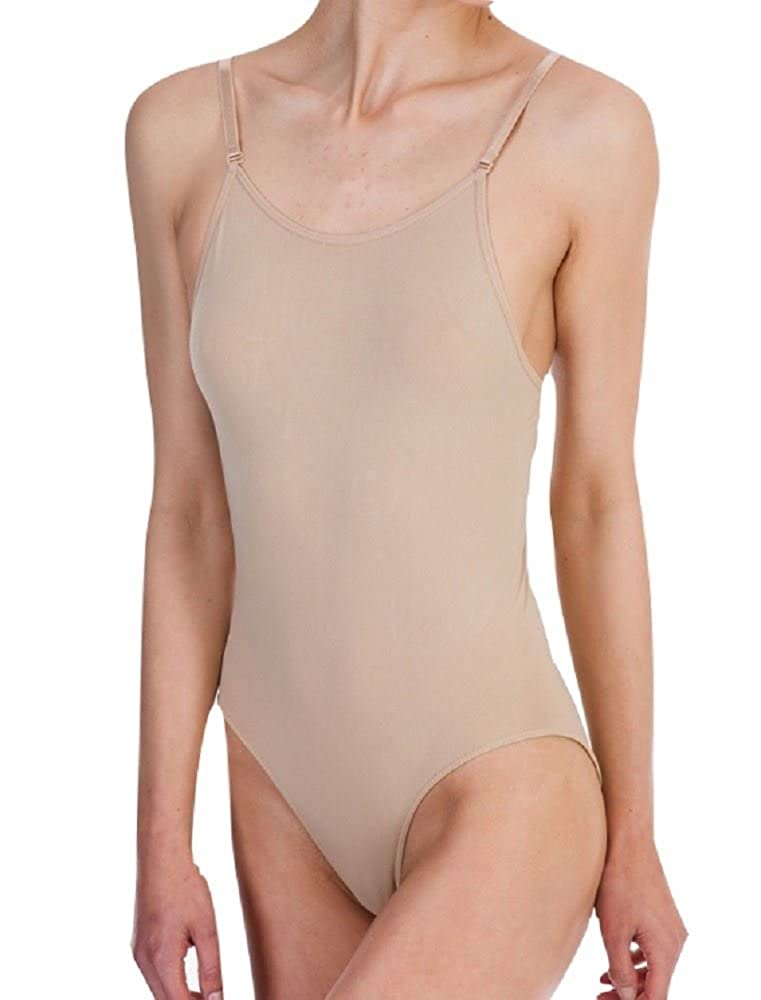 Silky Womens Dance Seamless Low Back Camisole Nude