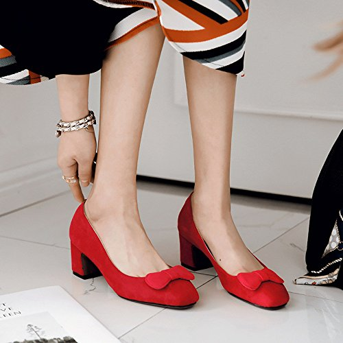 solo del la la zapatos primavera y estudiante salón luz En negrita de red del con dulce la 7t6d6wq