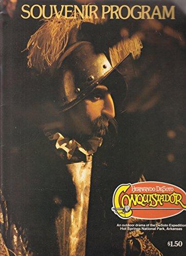 Book cover from Souvenir Program Hernando DeSoto Conquistador by Hot Springs National Park Foundation