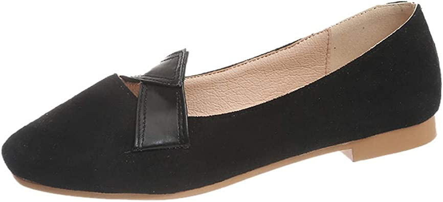 Siswong Mocassins Confort Simple Slip on Femme Plat Loafers