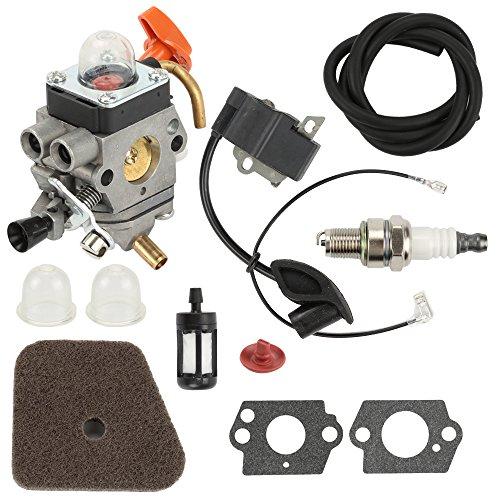 Harbot Carburetor Fuel LINE Filter AIR Filter Primer Bulb for STIHL KM100R KM110R KM90R SP90 SP90T FS90K HL90 HL95 HL95K FS100RX FS110 FS110R FS110X FS110RX