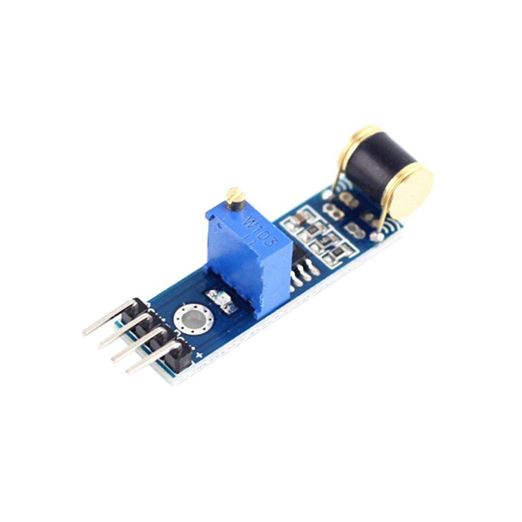MagiDeal DC 3V-5V Motion Vibrationsschalter Erkennung Sensormodul mit TTL-Pegel Signal fü r Arduino