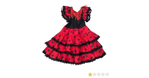 La Senorita Ropa Flamenco Niño Lujo Español Traje de ...