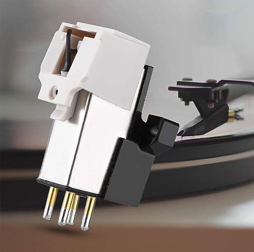 Zerone Stilo para Cartuchos magnéticas con LP Vinyl Needle para ...