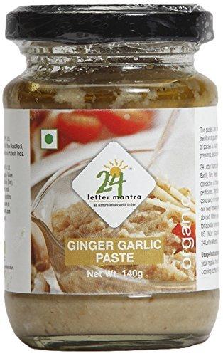 Organic Ginger Garlic Paste 10 Ounce - 24 Mantra Organic