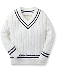 Boys Tennis Sweater Made With Organic Cotton