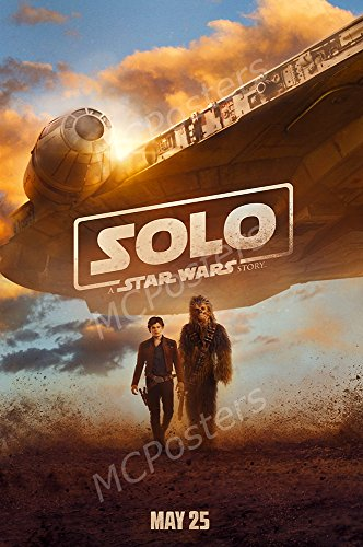 MCPosters Han Solo A Star War Story GLOSSY FINISH Movie Poster - MCP377 (24