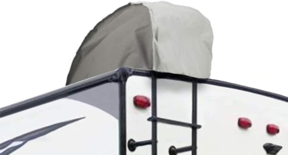 16-18 Feet Goldline Travel Trailer RV Covers by Eevelle Tan and Gray Waterproof Fabric