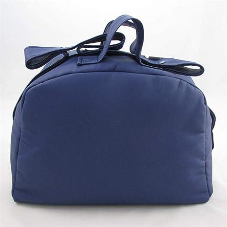 Bolso Polipiel Para Carro Bebe - Color Blanco Azul Marino – 4 ...