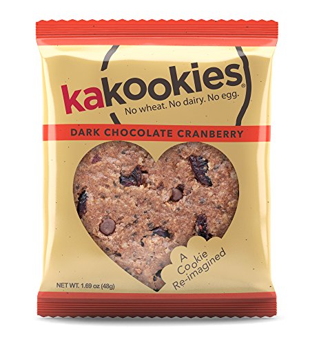 cks - Dark Chocolate Cranberry (Box of 1 Dozen Cookies) - Vegan, Gluten Friendly, Superfood Snack Cookies (1 Dozen Oatmeal)