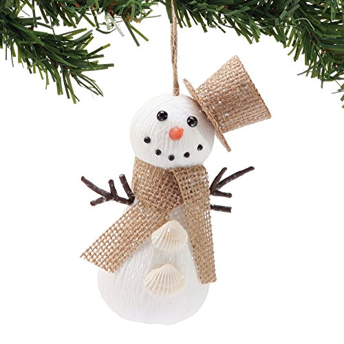 Department 56 Gone to The Beach Burlap Snowman, 6