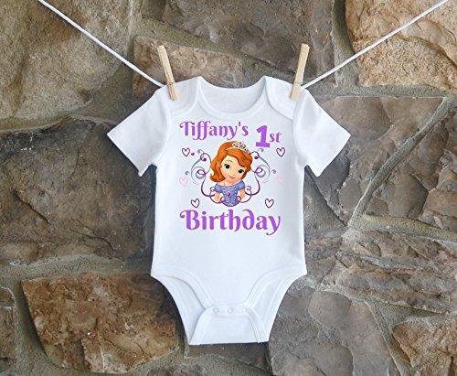 Princess Sophia Birthday Shirt, Princess Sophia Birthday Shirt For Girls, Personalized Girls Princess Sophia Birthday Shirt, Customized Princess Sophia Birthday Shirt by Lil Lady Treasures