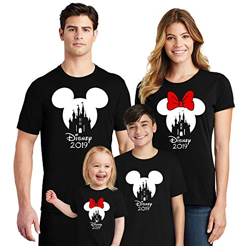 Natural Underwear Castle with 2019 Crew Neck Shirts Trip Mouse T Shirts Black Men Medium