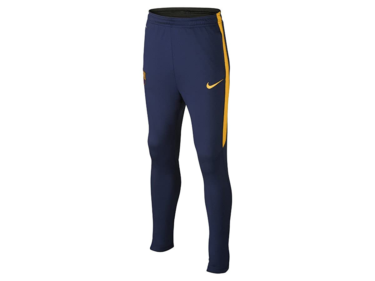 2015-2016 Barcelona Nike Strike Tech Pants (Navy) - Kids