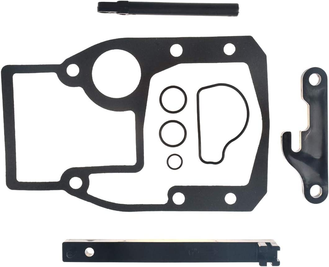 Shift Cable Kit Adjustment Tools and Mounting Gasket 987661 Fit for 1986-1993 OMC Cobra Sterndrive/986654 987498