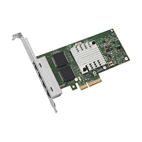 Intel Ethernet Server Adapter I340-T4 1Gbps RJ-45 Copper, PCI Express 2.0 x 4 Lane, OEM packaging