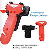 2 pcs Auto Emergency Escape Hammer