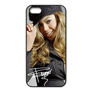 Customize Famous Singer Beyonce Back Case for iphone 5 5S Designed by HnW Accessories