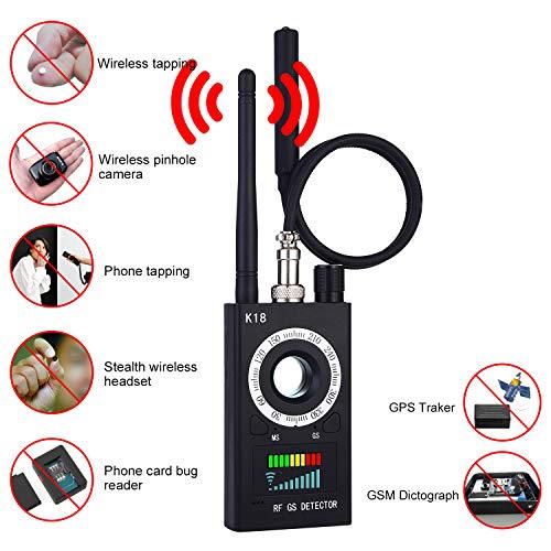 Hidden Camera Detectors-Anti Spy RF Detector Wireless Bug Detector Signal