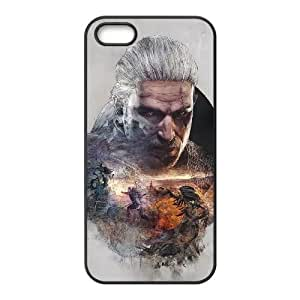 iPhone 4 4s Cell Phone Case Black The Witcher 3 Wild Hunt review Geralt 008 Getvz