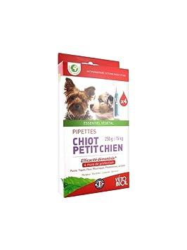 vétobiol pipetas pequeño perro 1 A 10 kg 4 pipetas: Amazon.es: Productos para mascotas