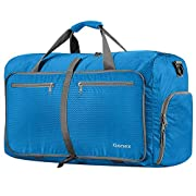 Gonex 80L Packable Travel Duffle Bag, Foldable Duffel Bags for Camping Luggage Gym Sports Travelling Cycling Shopping…