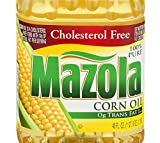 Mazola 100% Pure Corn Oil, Cholesterol Free, 40 Fl Oz