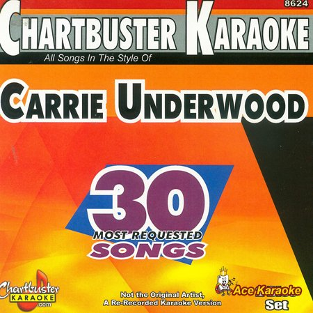Chartbuster Karaoke CDG CB8624 - Carrie Underwood - 30 Most Requested Songs