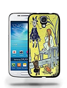 Vintage The Adventures of Wizard of Oz Sketch Art Drawing Phone Case Cover Designs for Samsung Galaxy S4