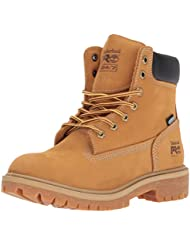 Timberland PRO Womens Direct Attach 6 Steel Toe Waterproof Insulated Industrial and Construction Shoe